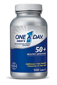 top 10 best multivitamins for men over 50