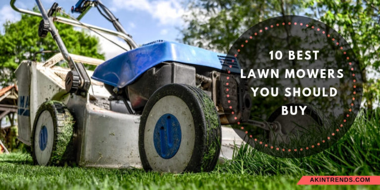 best lawn movers
