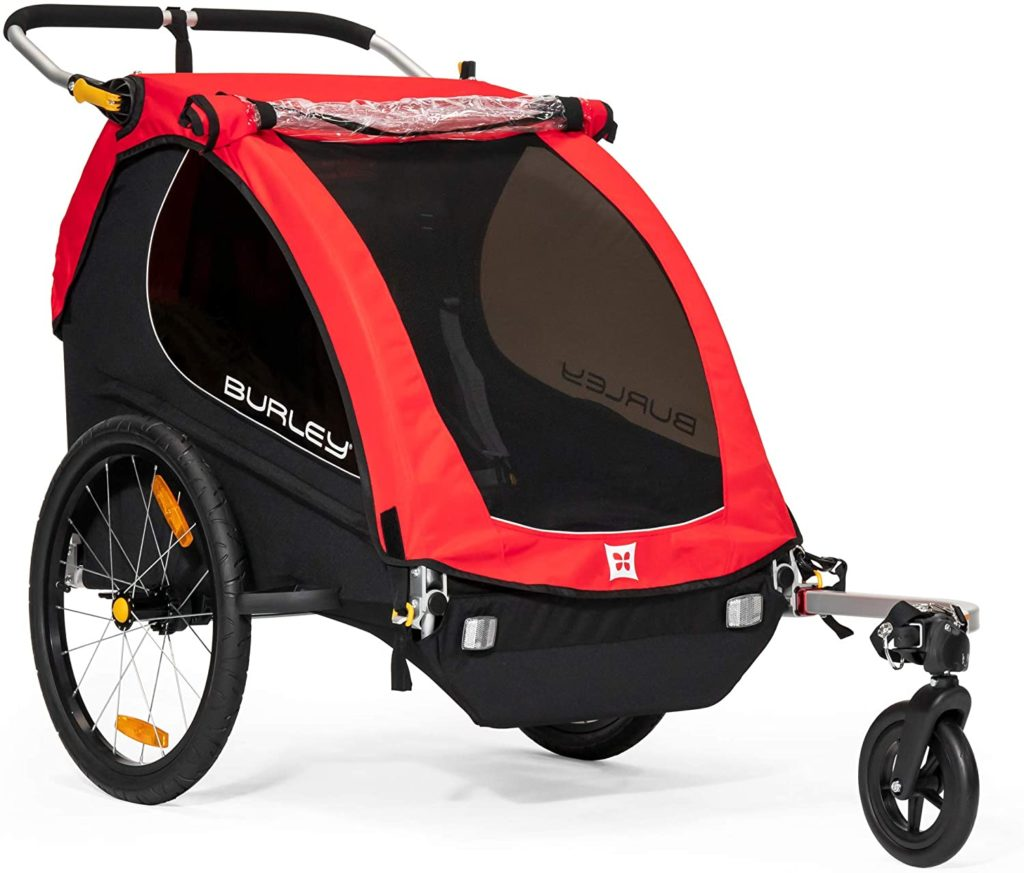 Burley Honey Bee Double Jogging Stroller
