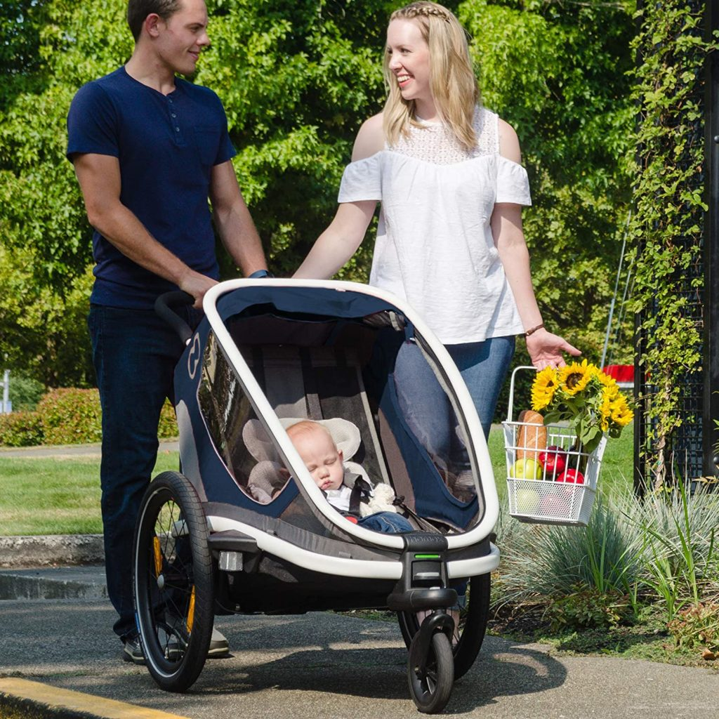 Hamax Outback Reclining Jogging Stroller