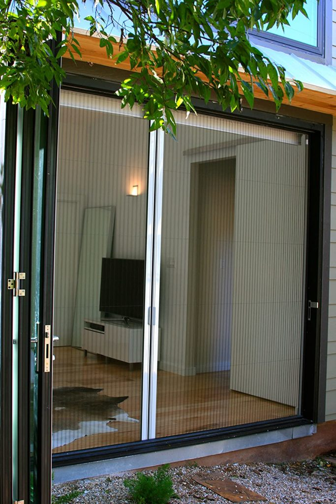 Screen Solutions' Double Retractable Door Screen
