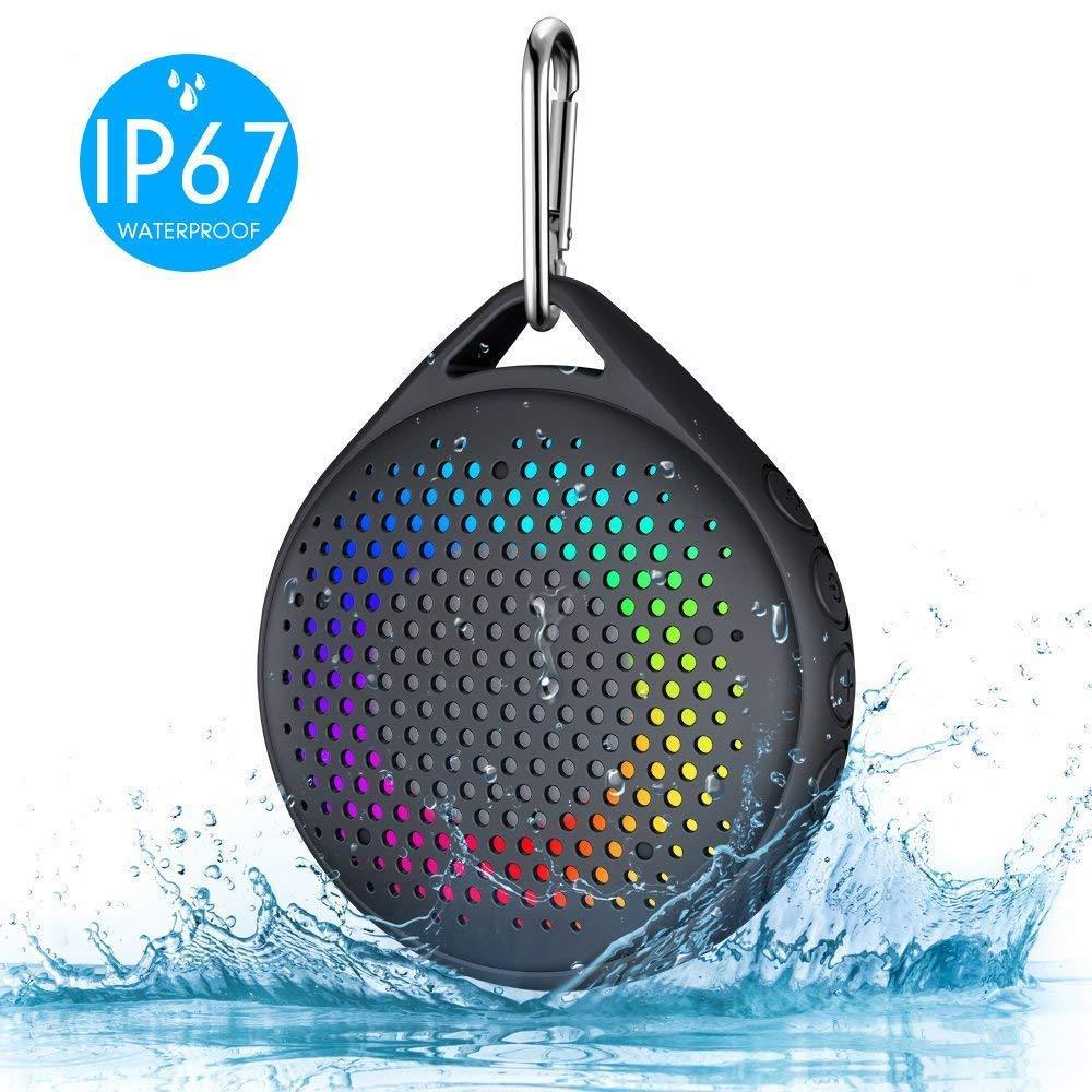 AVWOO IP67 Waterproof Bluetooth Shower
