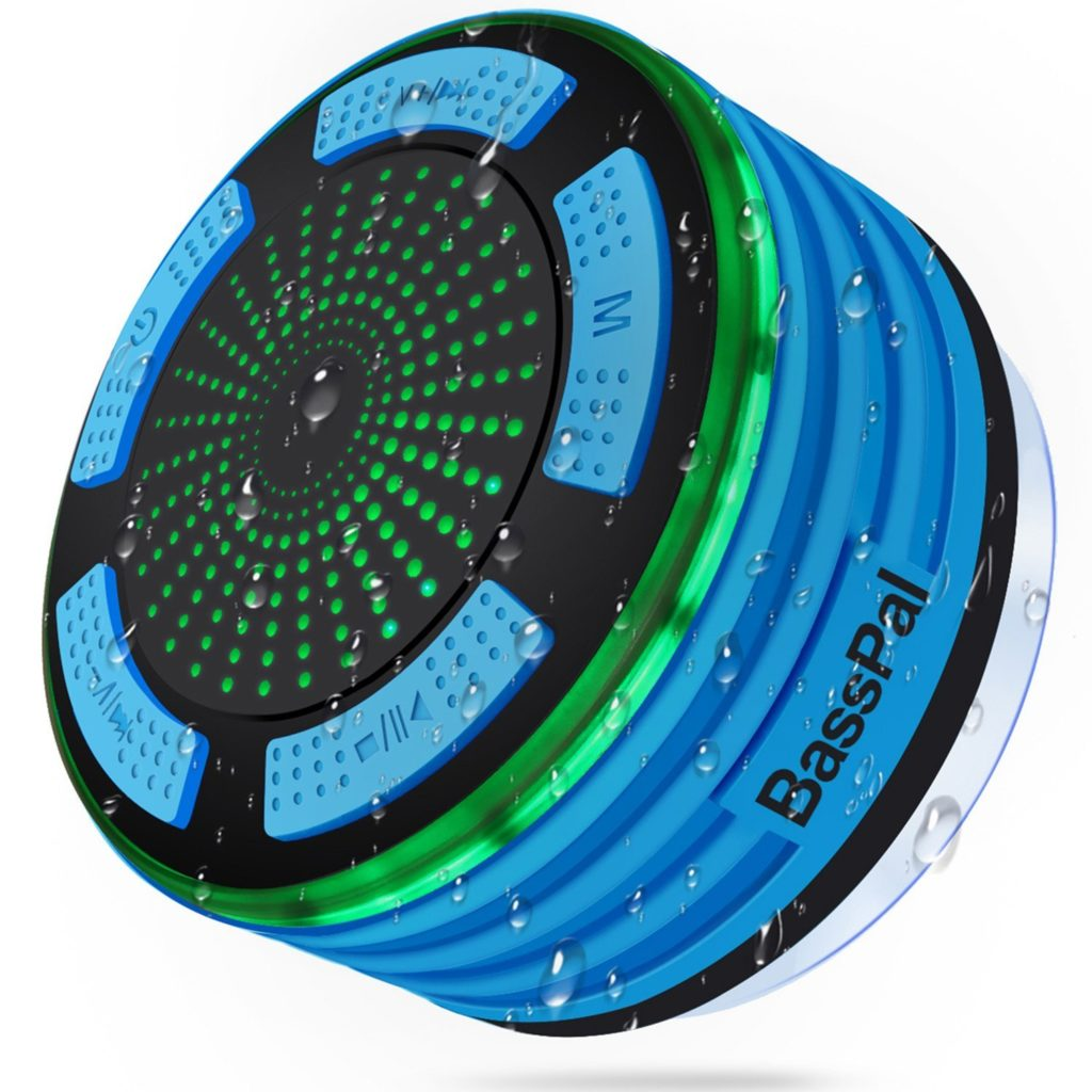 BassPal Shower Wireless Portable Speaker