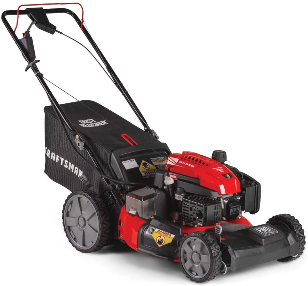 Craftsman M275 3-in-1 High-Wheeled Self-Propelled Lawn Mower