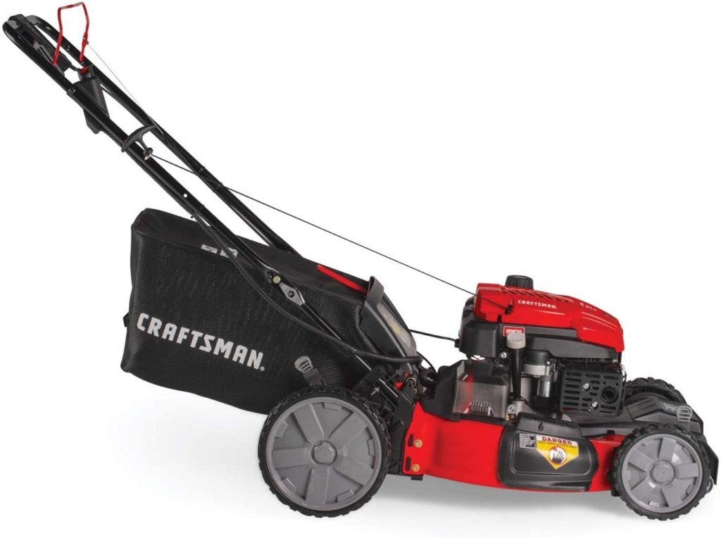 Craftsman M275 High-Wheeled Self-Propelled Lawn Mower