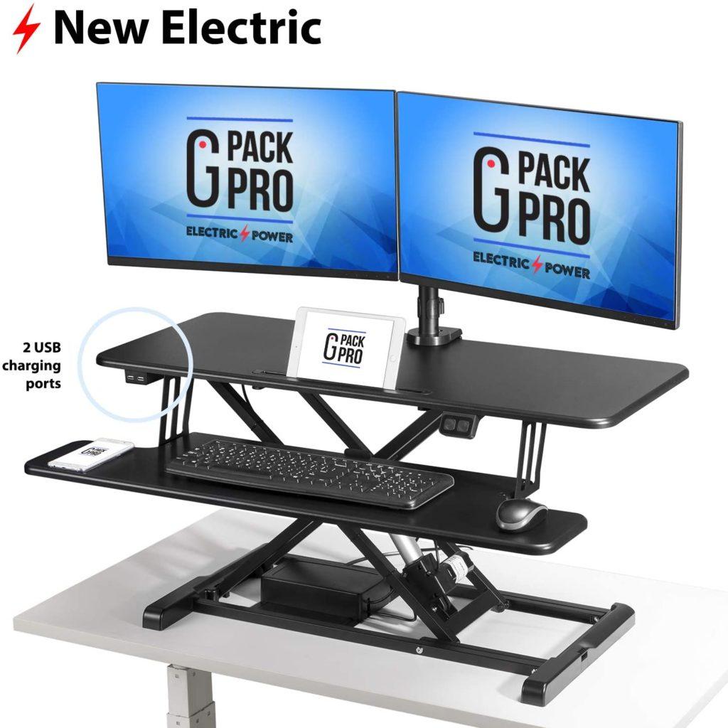 G Pack Pro Standing Desk Converter