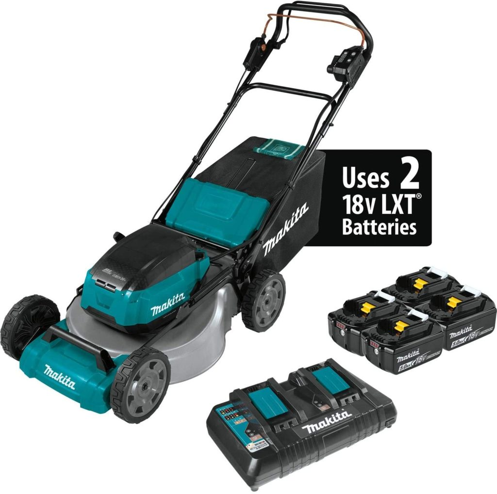 Makita XML08PT1 Self-Propelled Lawn Mower