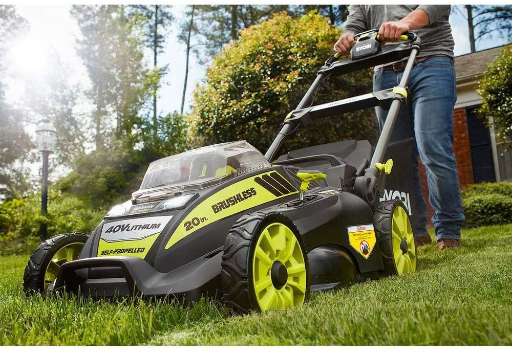 Ryobi RY40190 Self-Propelled Lawn Mower