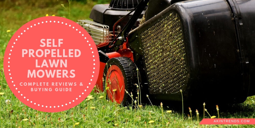 best self propelled lawn mowers for hills