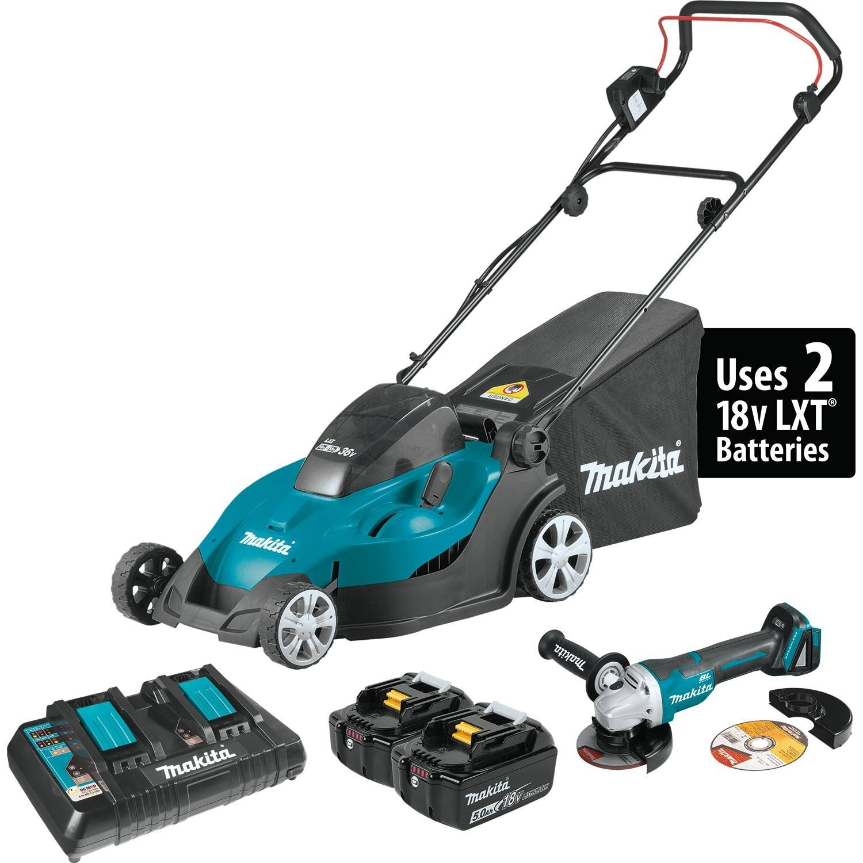 Makita XML02PTX1 Cordless Lawn Mower