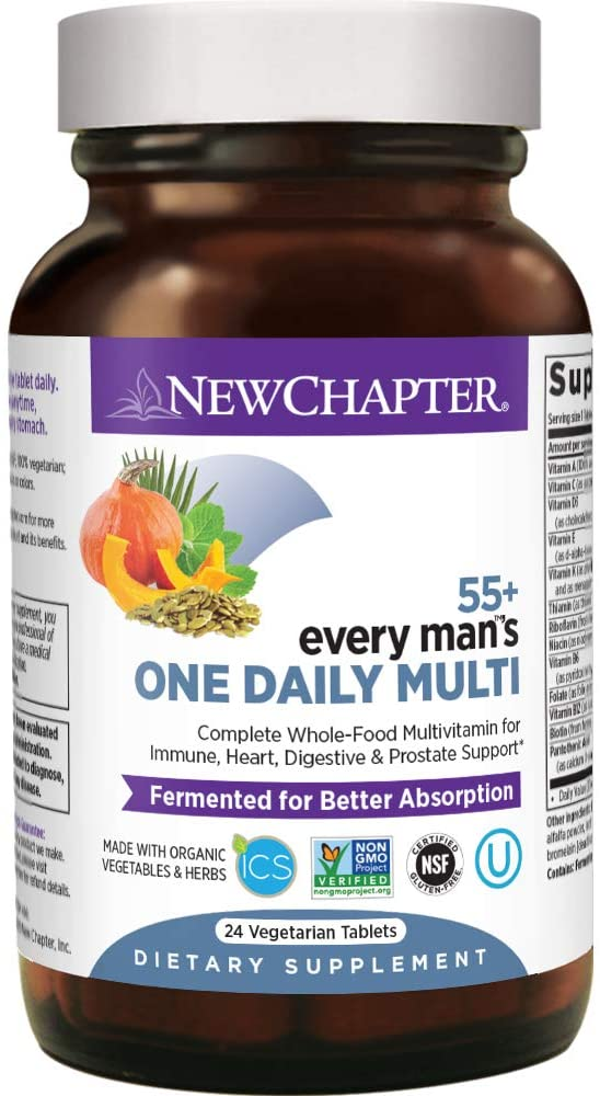 New Chapter Every Man's 50 Plus