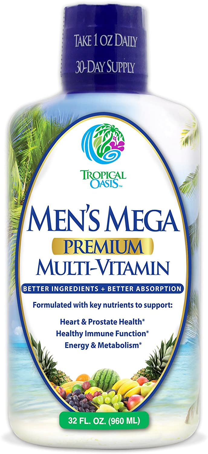 Tropical Oasis Men's Mega Premium Multivitamin