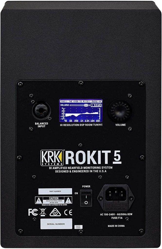 KRK RP5 Rokit G4 ports