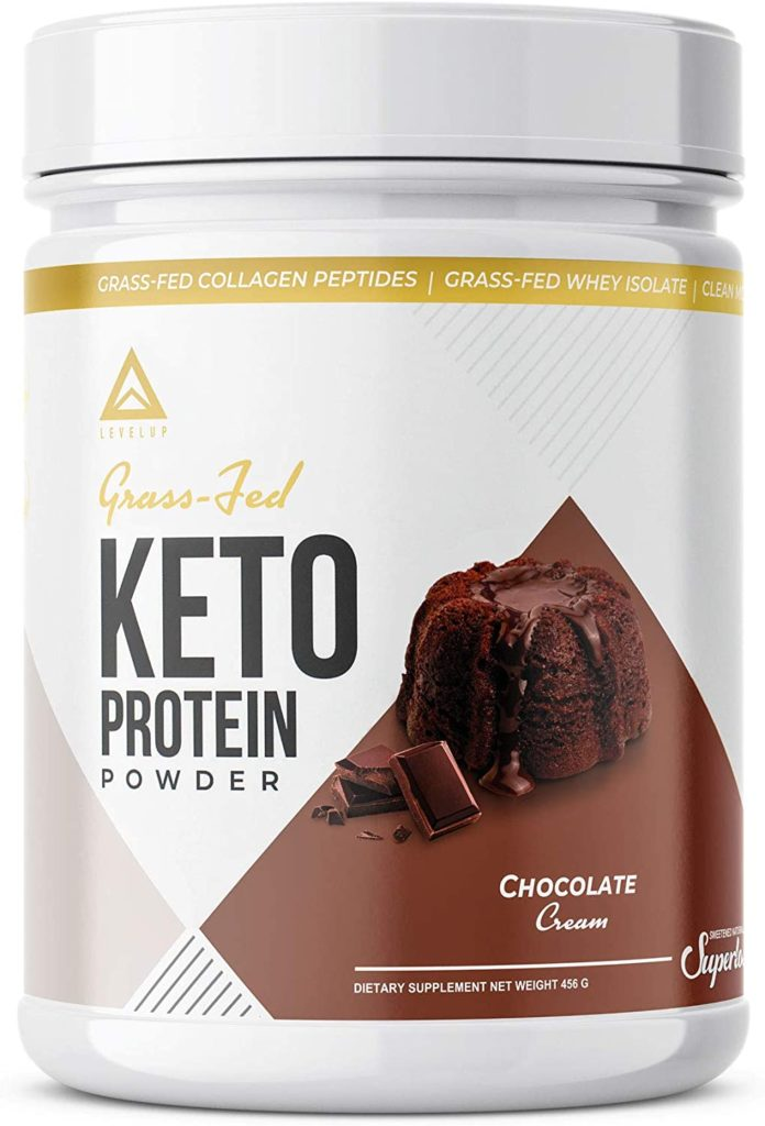 LevelUp Grass-Fed Keto Protein Powder