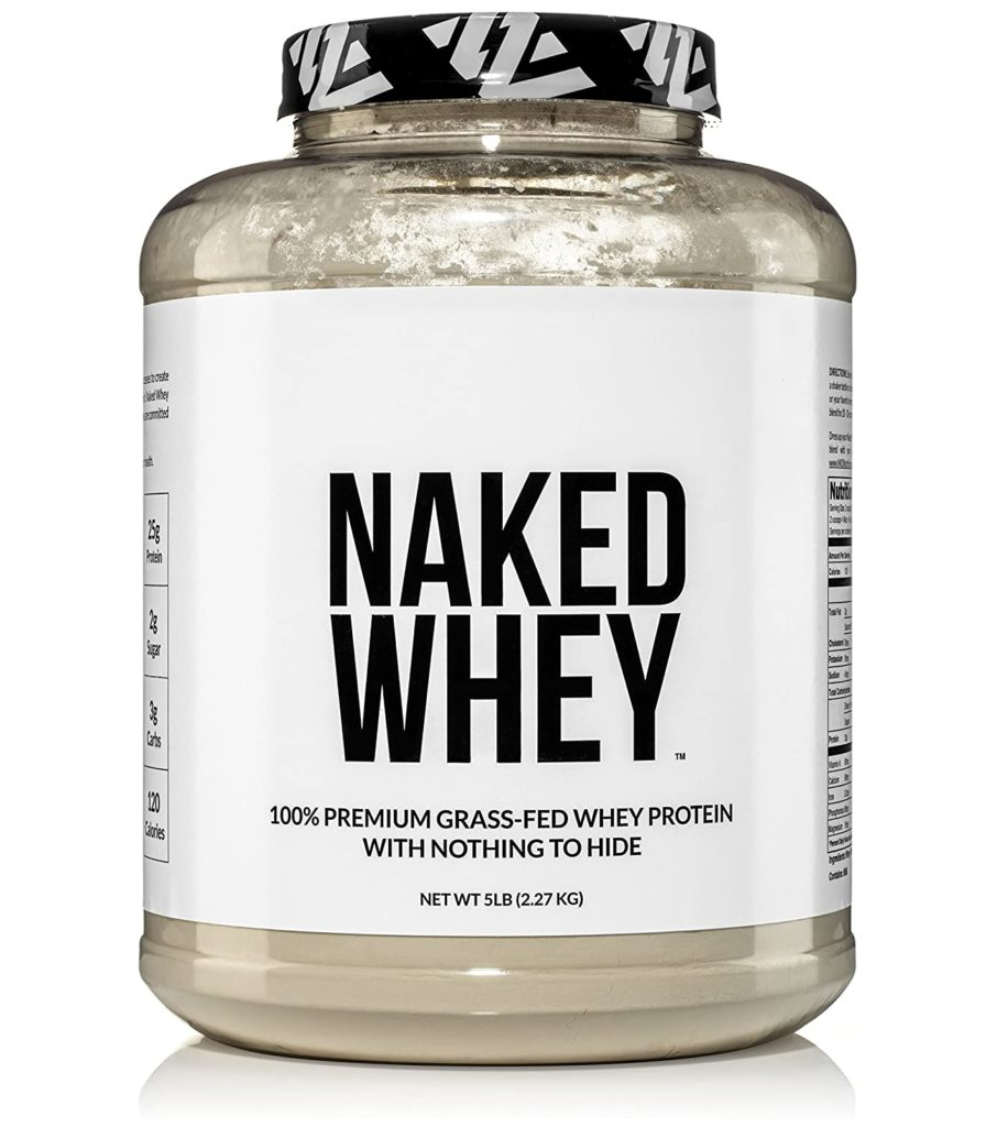 NAKED Grass Fed Whey Protein Powder