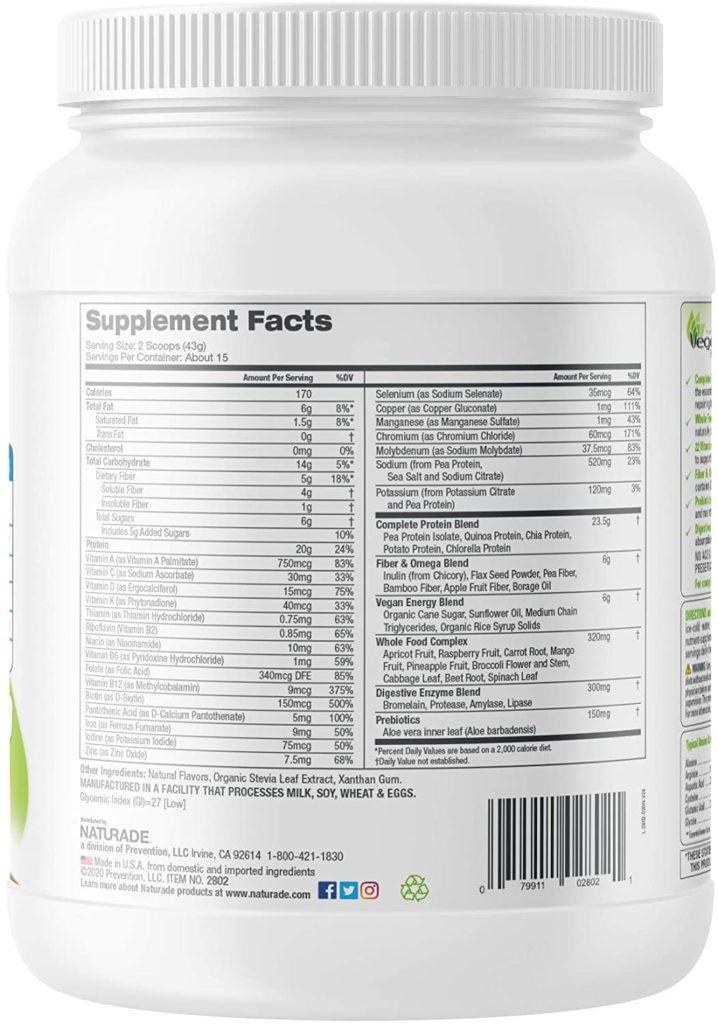 Naturade VeganSmart Vegan Protein Powder
