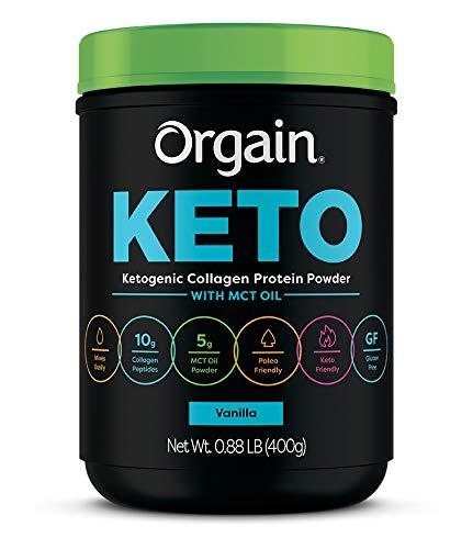 Orgain Keto Collagen Protein Powder
