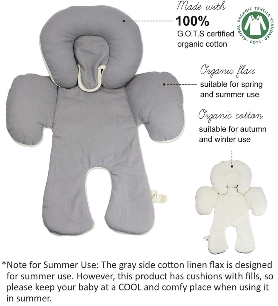 Dordor & Gorgor CuddleME Infant Head Support with Organic Cotton