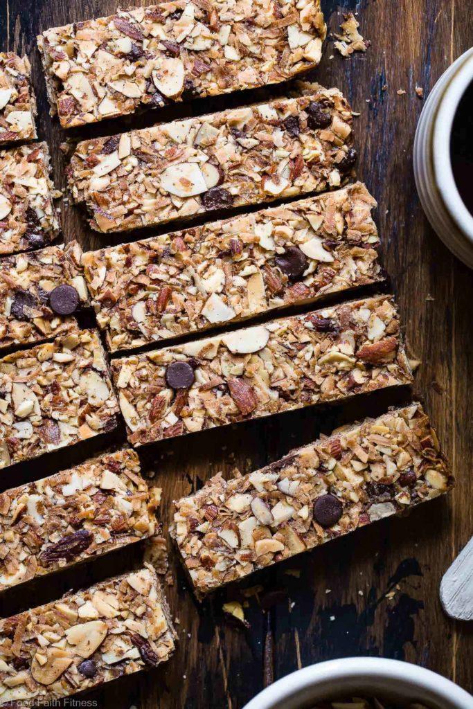 Sugar Free Low Carb Keto Granola Bars