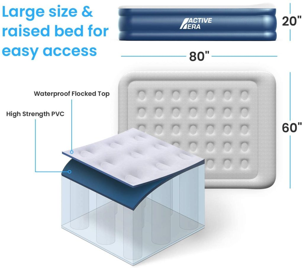 Active Era Air Mattress specifications