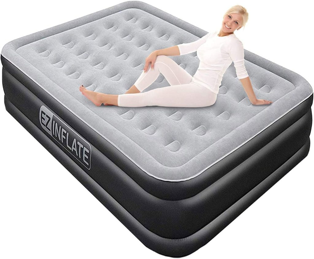 EZ INFLATE Luxury Double Air Mattress