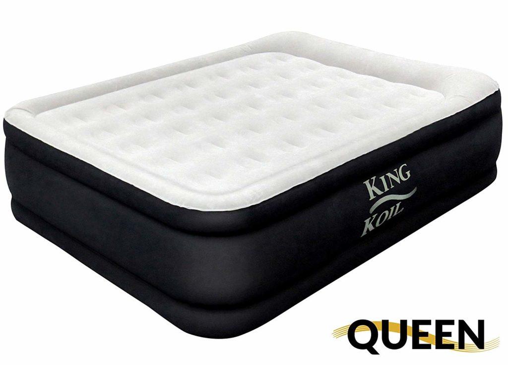 King Koil Queen Raised Air Mattress