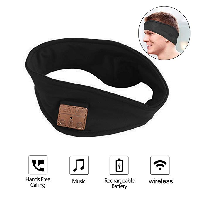 BGJOY HANDSFREE BLUETOOTH HEADBAND HEADPHONES