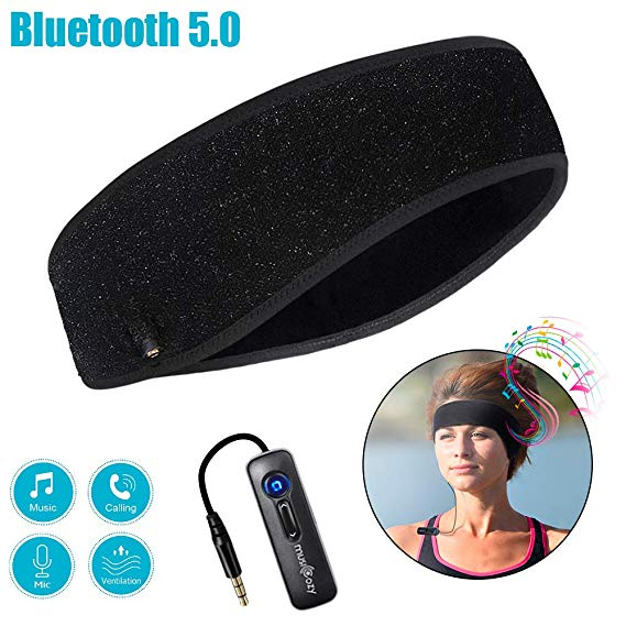 LC-DOLIDA WIRELESS RUNNING HEADBAND HEADPHONES