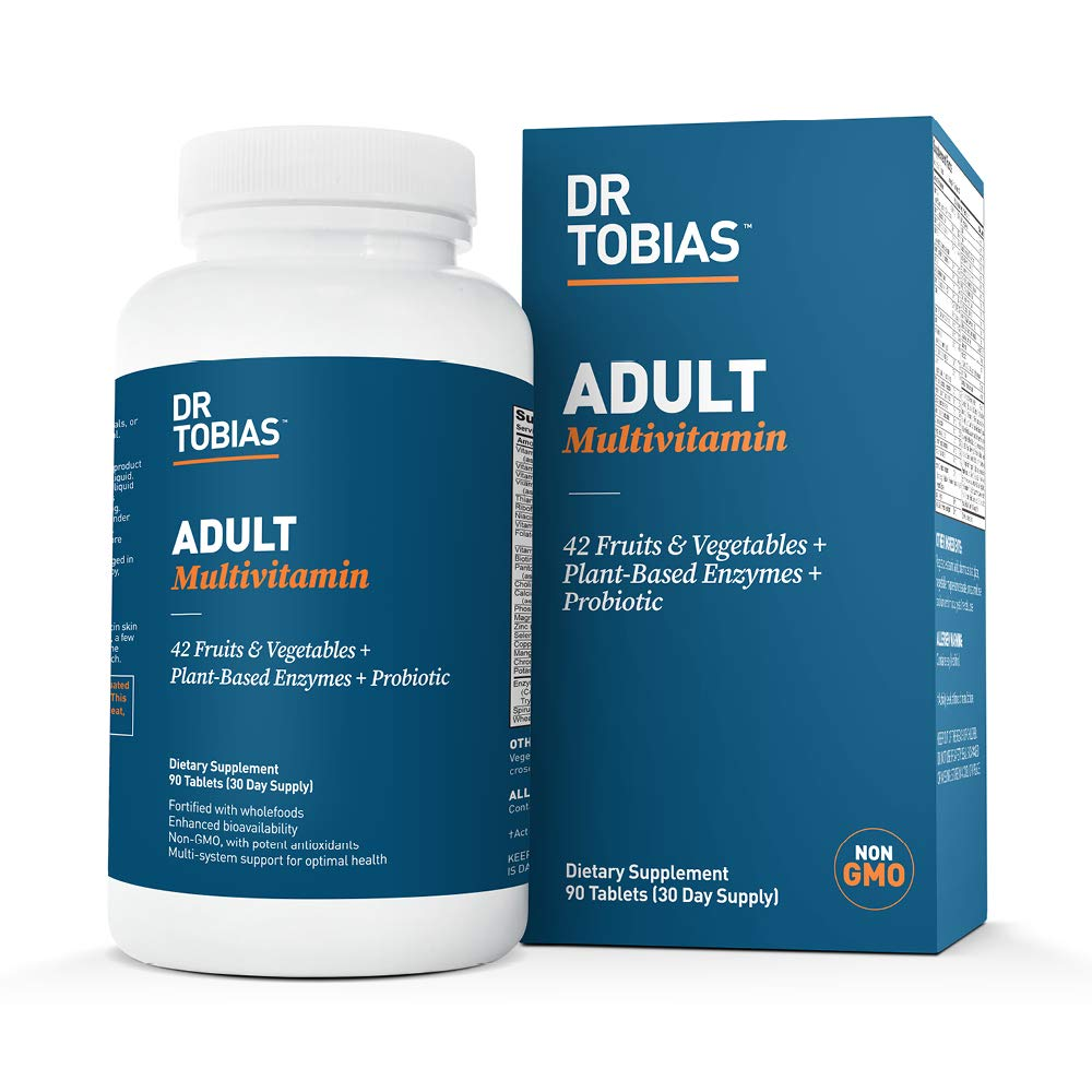 Dr.Tobias Adult Multivitamin - Enhanced Bioavailability