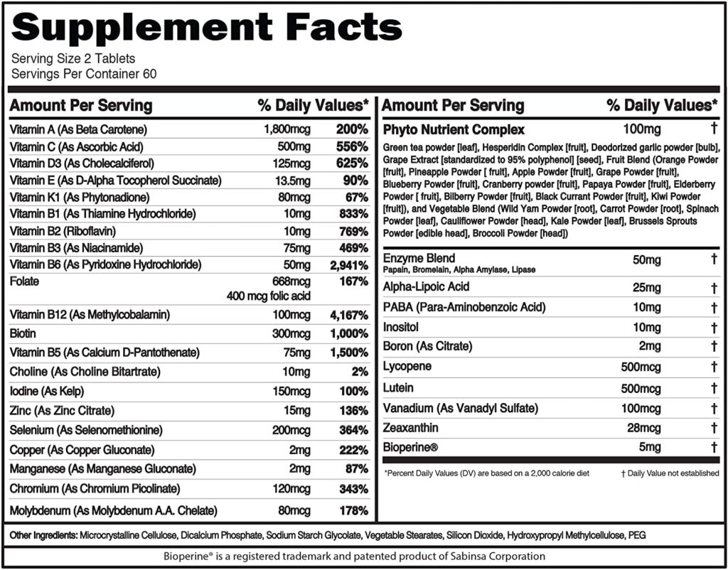 Evlution Nutrition VitaMode supplements