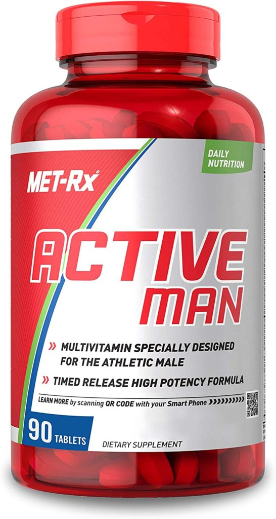 MET-Rx Active Man Multivitamin