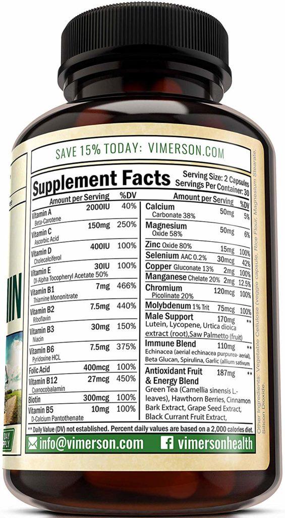 Vimerson Health Men's Daily