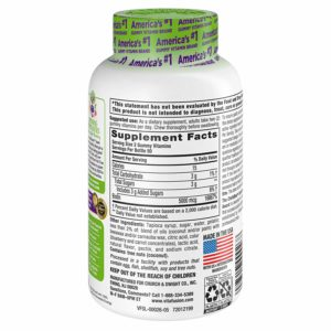 Vitafusion Extra Strength Biotin Gummy Vitamins contents