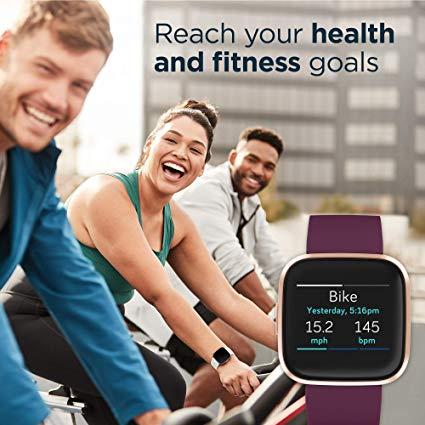 Fitbit Versa 2 workout image