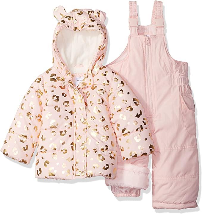 Carter's Baby Girls 2-Piece Snowsuit