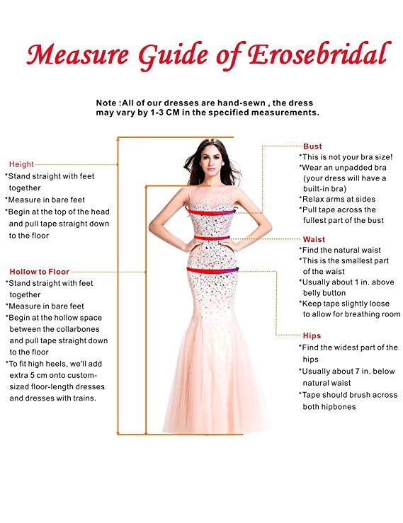Erosebridal New Sleeveless Lace Chiffon Wedding Dress breakup