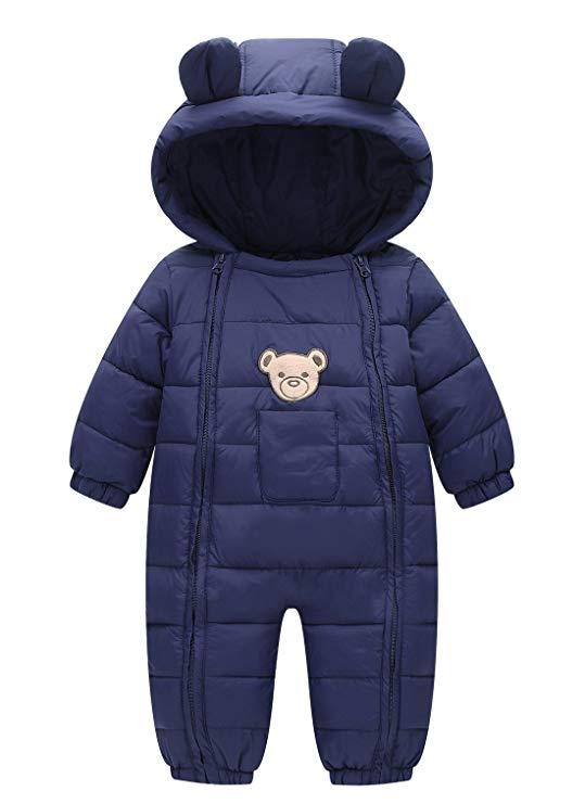 Happy Cherry Cotton Romper Baby Snowsuit