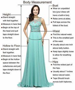 Ieuan Chiffon Beach Wedding Dress size guide