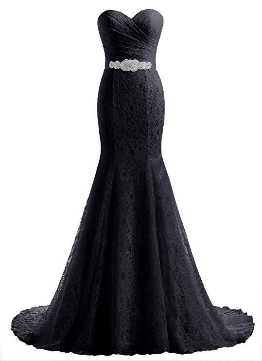 Likedpage Lace Mermaid Bridal Wedding Dress