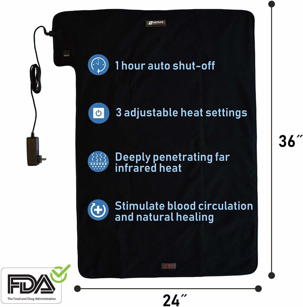 Venture Infrared Heating Pad