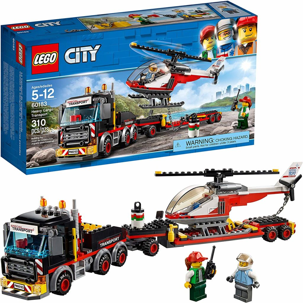 LEGO City Heavy Cargo Transport Play Set