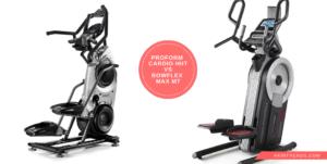 ProForm Cardio HIIT vs Bowflex Max M7