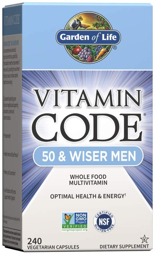 Garden of Life Multivitamin for Men - Vitamin Code