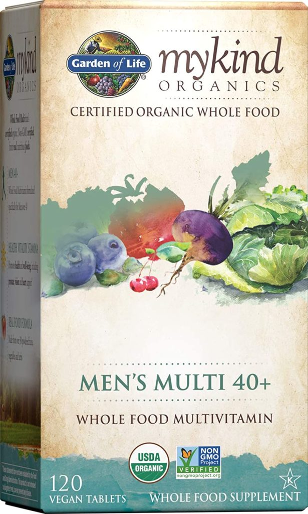 Garden of Life - Mykind Organic Men's Multivitamin
