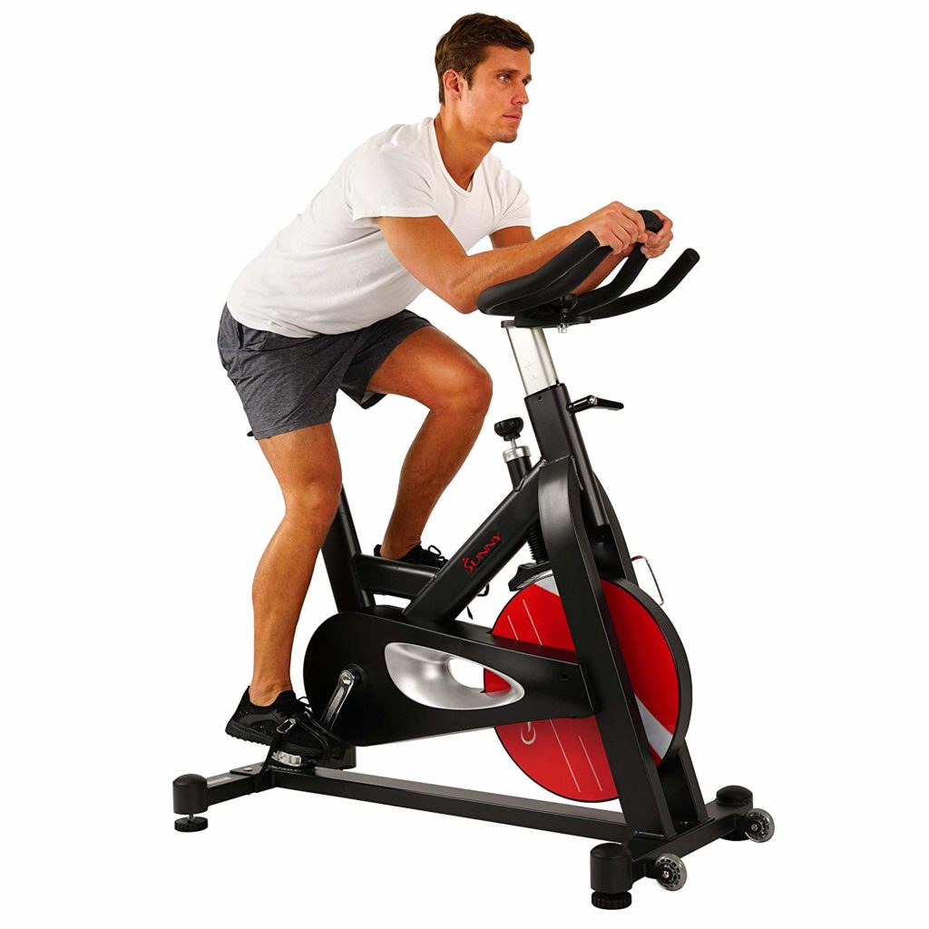 SUNNY HEALTH AND FITNESS EVOLUTION PRO indoor cycle user