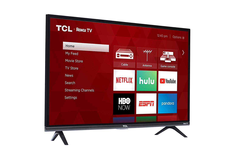 "TCL 28S305 28"" 720p Roku Smart LED TV"