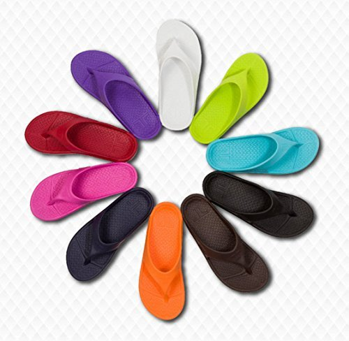 Telic Unisex Arch Support Flip Flops from Bob + Telic color options