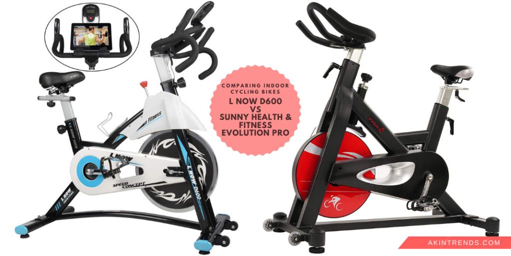 L Now D600 vs Sunny Health & Fitness Evolution Pro