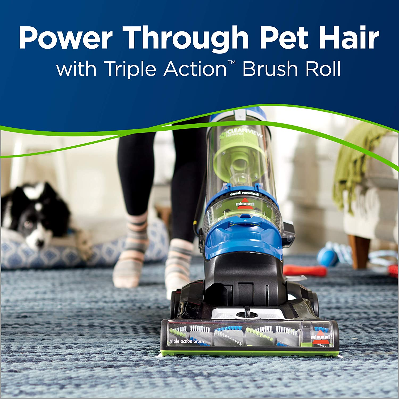 Bissell 2489 CleanView Rewind Pet Bagless Vacuum Cleaner