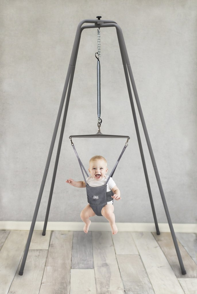 Jolly Jumper Baby Exerciser with Super Stand